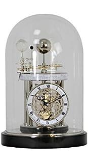Hermle 22836742987 Astrolabium II Mantel & Table Clock - Black Piano
