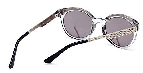 métallique de style cercle inspirées soleil de Comprimés Lennon en vintage retro Mercure du polarisées lunettes rond PdpaqwP