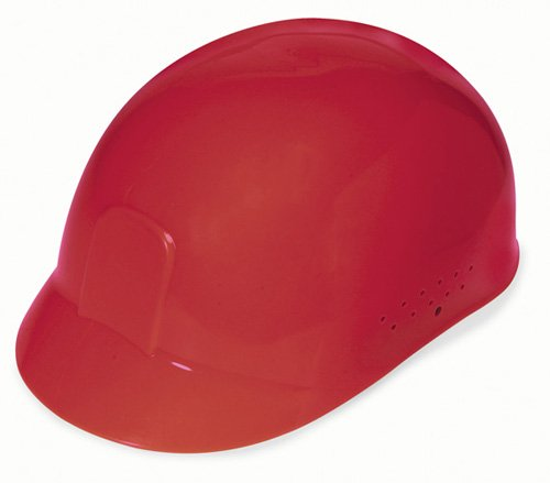 - Liberty DuraShell HDPE Bump Cap with 4 Point Pinlock Suspension, Red (Case of 6)