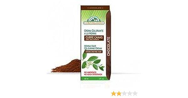 Crema Colorante Henna Chocolate 60 ml de Corpore Sano