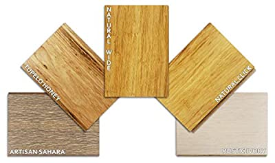 Hardwood Bamboo Flooring - 5 Color Sample Pack - Lights and Blondes by Ambient Bamboo