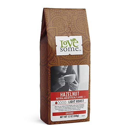 Lovesome Ground Coffee, Hazelnut, 12 Ounce
