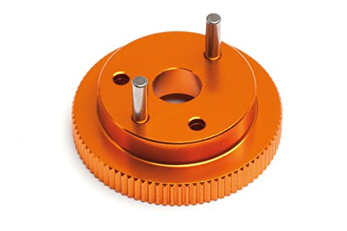 (HPI Racing Flywheel (For 2pcs Shoe) Trophy 3.5/4.6 Series (Orange) 101759)