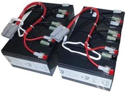 UPSBatteryCenter SU2200R3X152 APC Smart-UPS 2200VA RM SU2200R3X152 Compatible Battery Set Replacement