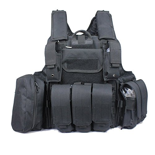 A&G GAGA Tactical Airsoft Molle Combat Vest With MOLLE, used for sale  Delivered anywhere in USA