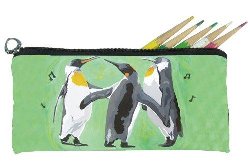 Salvador Kitti Small Pencil Bag (Penguins - The Trio)