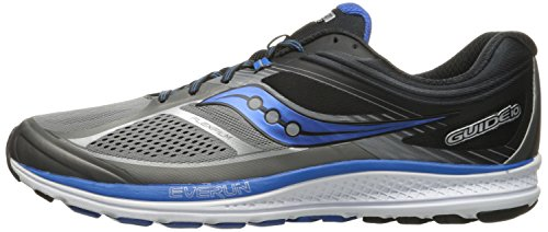Saucony Men's Guide 10 Running Shoes, Grey Black, 14 D(M) US by Saucony (Image #5)'