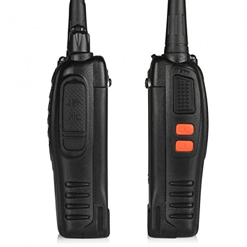 BaoFeng BF-888S Walkie Talkie 2pcs in One Box with Rechargeable Battery Headphone Wall Charger Long Range 16 Channels Two Way Radio (2pcs radios) by BaoFeng (Image #3)