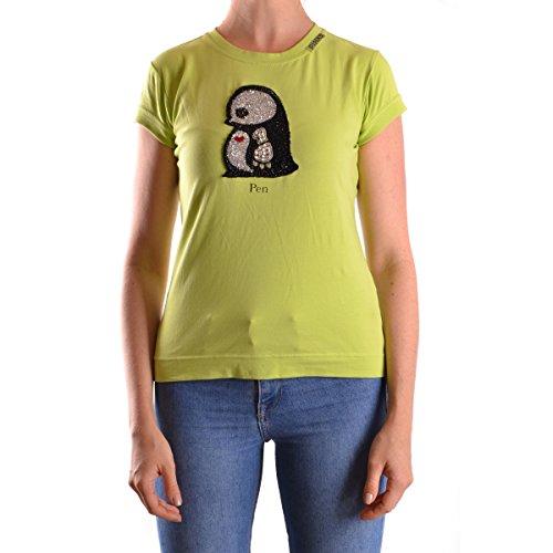 Camiseta Manga Corta Pinko Verde