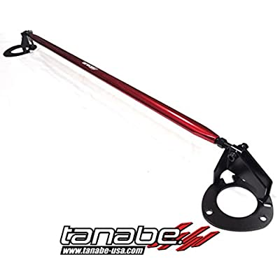 Tanabe TTB154F Sustec Front Tower Bar for 2010-2010 Mazda Mazda 3: Automotive