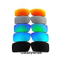 Replacement Lenses For Oakley Gascan Polarized Black&Blue&Green&Titanium&Red Polarized 5 Pairs