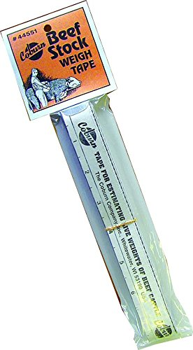 Coburn Beef Stock Weigh Tape, 108 108 44551