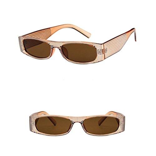 Vintage Lady De Soleil Unisexe Mode G Rivet Luxe Rectangle Pour Eyewear Dames Hommes De Femmes Sun Lunettes Cover Soleil De Hommes Lunettes Perle Lunettes Lunettes zw8TnzqF