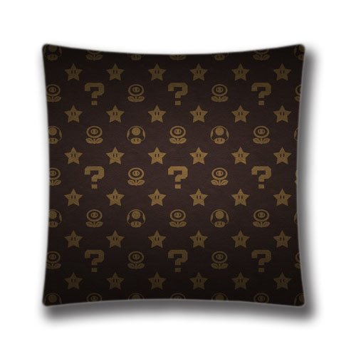 AM Kingdom Cotton Polyester Square Throw Pillow Case Decorat