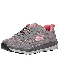 Skechers for Work Women's Comfort Flex HC Pro SR Health Care and Food Service Shoe