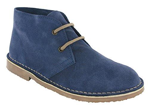 Donna Roamer Blue Desert Boots Stivali Denim 66S0wvTq