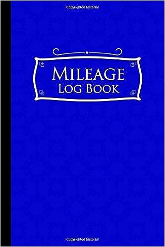 amazon com mileage log book mileage book for taxes mileage ledger