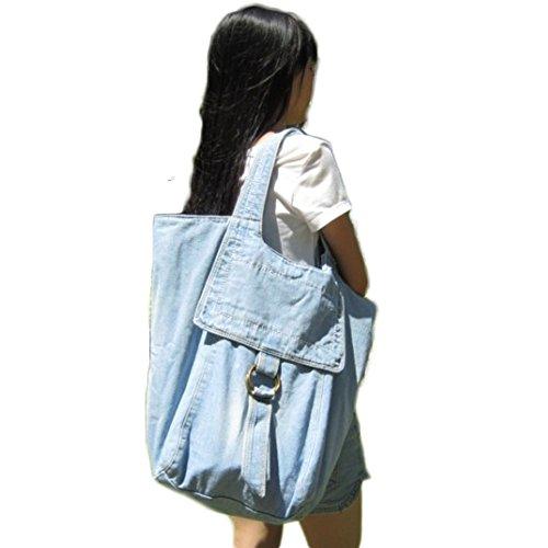 à capacité sac provisions voyage Owarder femmes bandoulière grande Clair d'alpinisme sac Bleu à Sac Sac de de des Zx0wBwEq