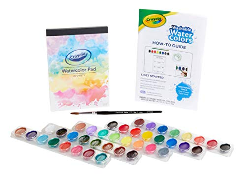 Crayola Deluxe Watercolor Kit, Paint Set, Gift, Over 60 Pieces -