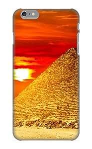 Awesome QvwAHH-381-YkQhu Goldenautumn Defender Tpu Hard Case Cover For Iphone 6 Plus- Pyramids Egypt