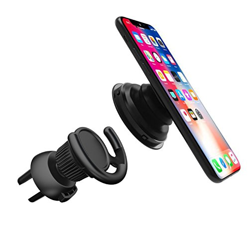 Pop Out Stand Car Mount 360° Rotation Car holder cradle fits iphone X , sumsang , tablet, for Pop Socket Users (Air vent 1)