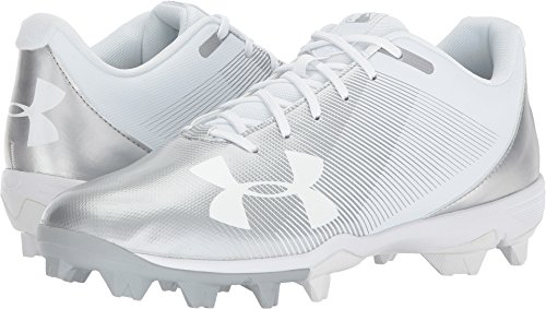Armour White Baseball Men's Shoe Leadoff Under RM Low White dq07nwZ