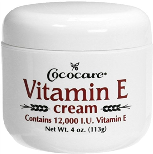 CocoCare Products Vitamin E,12000 Iu Cream - 4 Oz, 2 pack