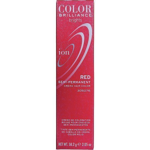 Ion Color Brilliance Brights Semi-Permanent Hair Color Red by Ion
