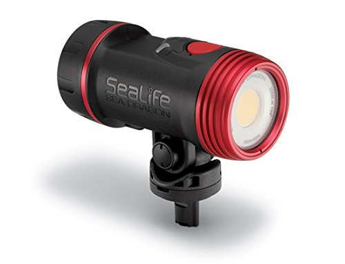 SeaLife SL6712 Sea Dragon 2500 UW Photo/Video Light Head includes Light Head, Battery & Charger by SeaLife