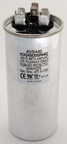 TP-CAP-50//5//440R VAC Dual Rated TRADEPRO® Run Capacitor Round