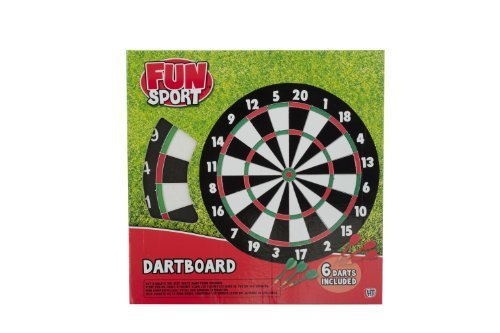 Fun Sport 17-inch Dartboard by Sport Fun