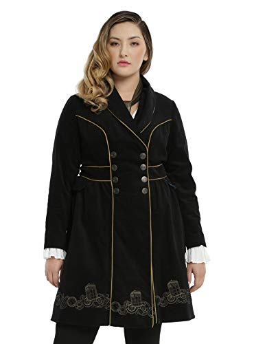 Hot Topic Doctor Who Tardis Coat Plus Size ()