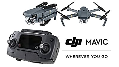 DJI Mavic Pro Quadcopter Drone with 4K Camera & eDig Bundle