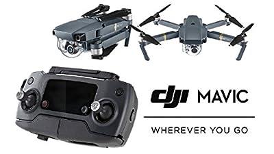 DJI Mavic Pro Quadcopter Drone with 4K Camera & eDig Bundle