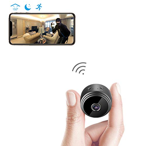 Spy Camera Wireless Hidden WiFi Camera AREBI HD 1080P Mini Camera