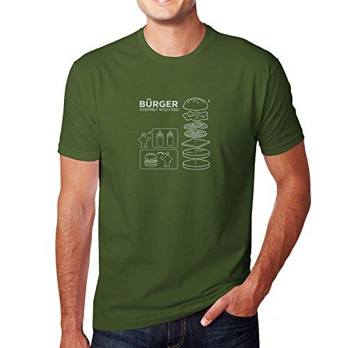 Planet Nerd - Bürger Assembly required - Herren T-Shirt, Größe M, oliv
