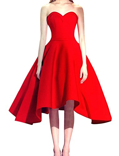 Dresses Sweetheart up Bridal Bess Lace Women's Red Party Prom Short Homecoming 16zTOxw