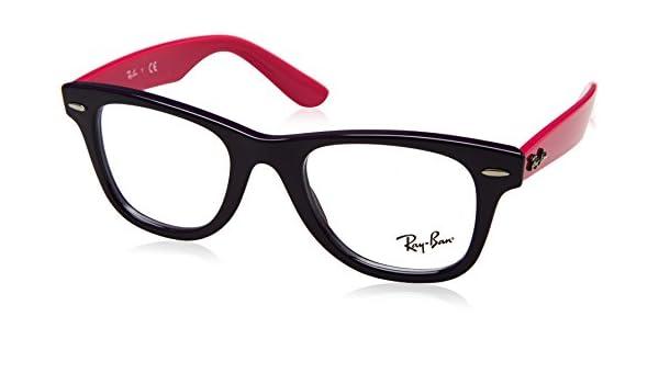 797b03a6ed Amazon.com  Ray-Ban Junior Wayfarer RY9066V - 3751 Eyeglasses  Clothing