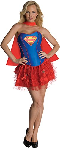 Women's Costume: Flirty Supergirl- Extra Small