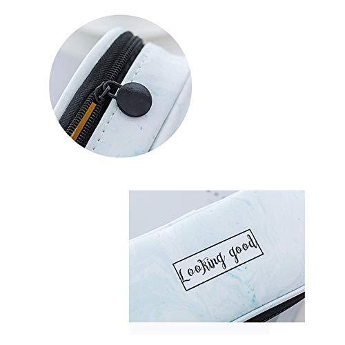 Grau Student Schreibwaren Marmor Federmäppchen Multifunktions Wasserdichte Pu Pu Pu Kreative Schreibwaren Tasche 1 STÜCKE Langlebig und Nützlich Ogquaton B07Q3DF1QH | Diversified In Packaging  63a2ee