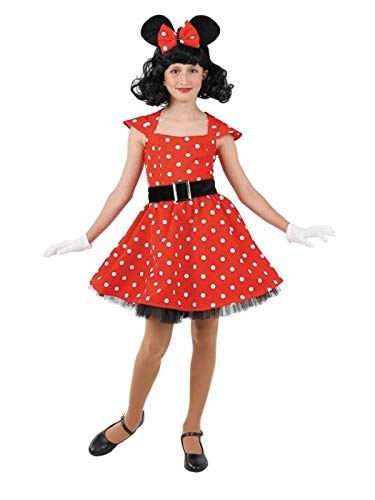 DISBACANAL Disfraz ratita Minnie niña - Único, 6 años: Amazon.es ...