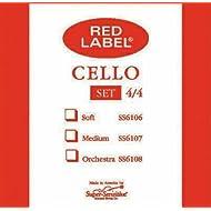 Super Sensitive Steelcore 4/4 Cello Strings: Set