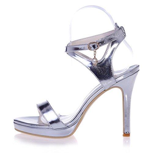 L@YC 5915-28 Zapatos De TacóN alto / Sandalias De Confort Para Mujer al aire Libre / Oficina Y Trabajo / Vestidos Yellow