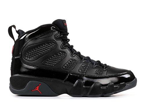 Image of Jordan Air 9 Retro Men's Basketball Shoes Black/University Red 302370-014