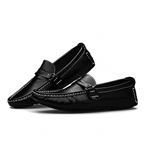 Tongpu Heren Oxford Schoenen Casual Heren Kunstleer Loafers Schoeisel Wit