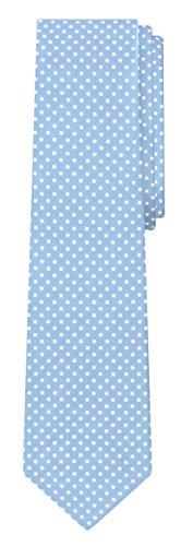 Jacob Alexander Polka Dot Print Men's Reg Polka Dotted Tie - Baby (Baby Blue Necktie)