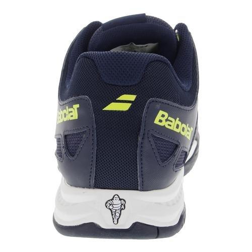 Babolat , Chaussures spécial tennis pour homme bleu bleu/jaune/fluo