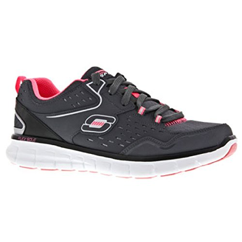 Skechers Synergy - Front Row, basses femme Gris