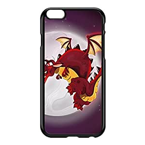 Dragon Black Hard Plastic Case for iPhone 6 Plus by Nick Greenaway + FREE Crystal Clear Screen Protector