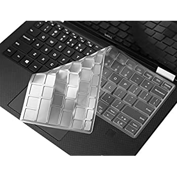 CooSkin TPU Keyboard Protector Skin Cover Guard for Dell XPS 13 9365 9370
